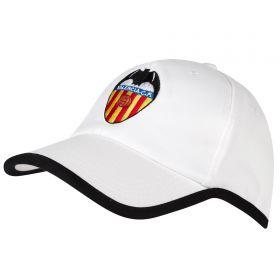 Valencia CF Core Crest Fan Cap - White - Adult