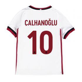 AC Milan Away Shirt 2017-18 - Kids with Çalhanoglu 10 printing