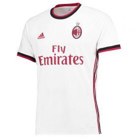 AC Milan Away Shirt 2017-18 with Bonucci 19 printing