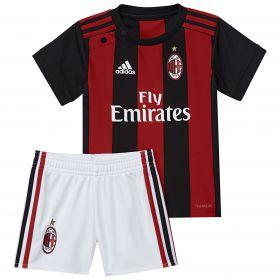 AC Milan Home Baby Kit 2017-18 with Çalhanoglu 10 printing