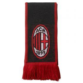 AC Milan Home Scarf - Black