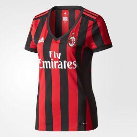 AC Milan Home Shirt 2017-18 - Womens with Bonucci 19 printing