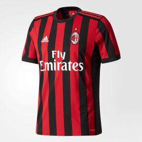 AC Milan Home Shirt 2017-18 with Bonucci 19 printing