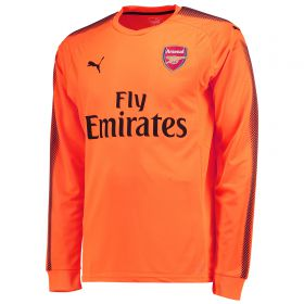 Arsenal Away Goalkeeper Shirt 2017-18 - Kids with Cech 33 printing