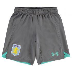 Aston Villa Training Shorts - Graphite - Kids