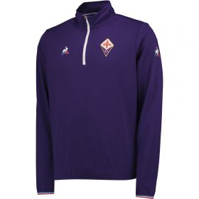 Fiorentina Training Quarter Zip Top - Violet