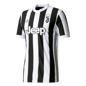 Juventus Home Adi Zero Shirt 2017-18 with Cuadrado 7 printing