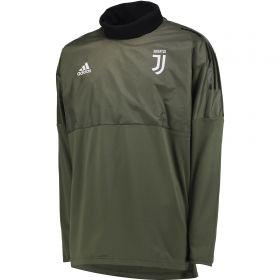 Juventus UCL Training Hybrid Top - Green