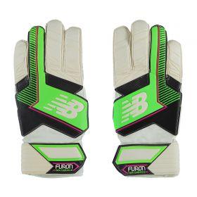 New Balance Furon Dispatch Goalkeeper Gloves - White/Green
