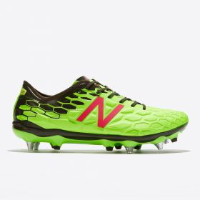 New Balance Visaro 2.0 Pro Soft Ground Football Boots - Energy Lime/Military Dark Triumph Green