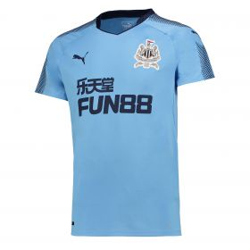 Newcastle United Away Shirt 2017-18 with Shelvey 8 printing