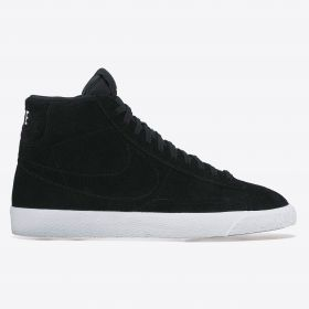 Nike Blazer Mid Trainers - Black/Black/Summit White