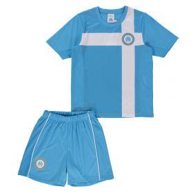 Olympique de Marseille Polyester Mini Kit - Blue - Boys