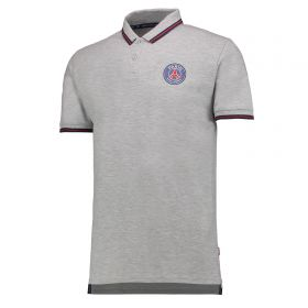 Paris Saint-Germain Polo Shirt - Grey - Mens
