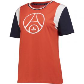 Paris Saint-Germain Retro T-Shirt - Red - Womens