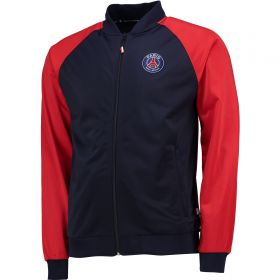 Paris Saint-Germain Track Jacket - Navy/Red - Mens