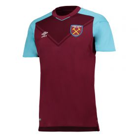 West Ham United Home Shirt 2017-18 - Kids with Carroll 9 printing