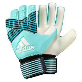 adidas Ace Competition Goalkeeper Gloves - Energy Aqua/Energy Blue/Legend Ink/White