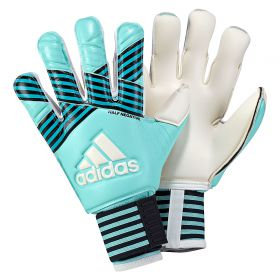 adidas Ace Half Negative Goalkeeper Gloves - Energy Aqua/Energy Blue/Legend Ink/White