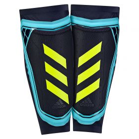 adidas Ghost Foil Shinguards - Energy Blue/Legend Ink/Solar Yellow