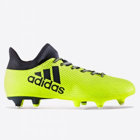 adidas X 17.3 Soft Ground Football Boots - Solar Yellow/Legend Ink/Legend Ink