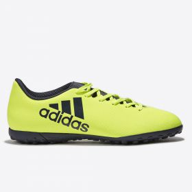 adidas X 17.4 Astroturf Trainers - Solar Yellow/Legend Ink/Legend Ink