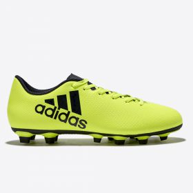 adidas X 17.4 Firm Ground Football Boots - Solar Yellow/Legend Ink/Legend Ink
