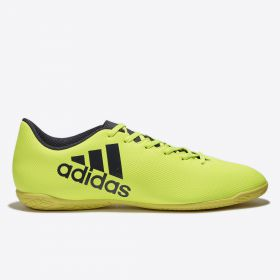 adidas X 17.4 Indoor Trainers - Solar Yellow/Legend Ink/Legend Ink