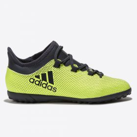 adidas X Tango 17.3 Astroturf Trainers - Solar Yellow/Legend Ink/Legend Ink - Kids