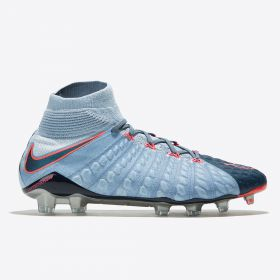 Nike Hypervenom Phantom III Dynamic Fit Firm Ground Football Boots - Armory Navy/Black/Lt Armory Blue