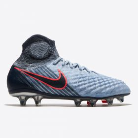 Nike Magista Obra II Firm Ground Football Boots - Lt Armory Blue/Armory Navy/Armory Blue - Kids