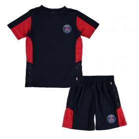 Paris Saint-Germain Mini Kit Set - Navy - Junior
