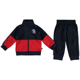 Paris Saint-Germain Polyester Tracksuit - Navy - Baby