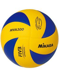Mikasa Волейболна топка MVA300 - СИНЬО/ЖЪЛТО