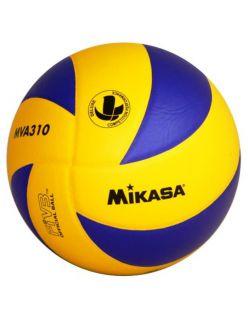 Mikasa Волейболна топка MVA310 - Синьо/Жълто