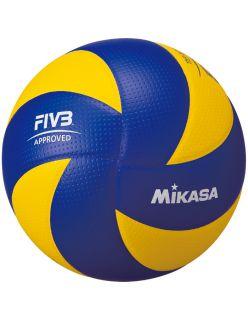 Mikasa Волейболна топка MVA200 - Синьо/Жълто