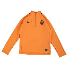 AS Roma Squad Drill Top - Orange - Kids