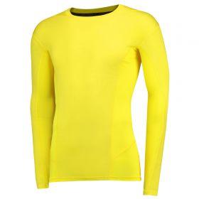 Aston Villa HeatGear Warp Sonic Baselayer Top - Long Sleeve - Sunbleached
