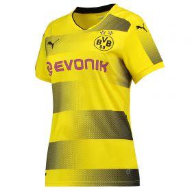 BVB Home Shirt 2017-18 - Womens with Yarmolenko 9 printing