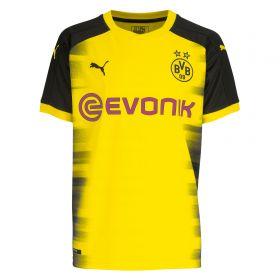 BVB International Home Shirt 2017-18 - Outsize with Sancho 7 printing
