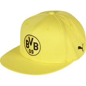 BVB Stretchfit Logo Cap - Yellow