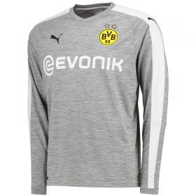 BVB Third Shirt 2017-18 - Long Sleeve with Sancho 7 printing