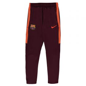 Barcelona Squad Training Pant - Maroon - Kids
