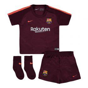 Barcelona Third Stadium Kit 2017/18 - Infants