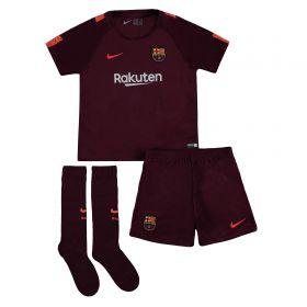 Barcelona Third Stadium Kit 2017/18 - Little Kids