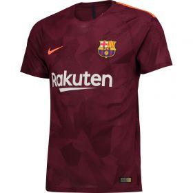 Barcelona Third Vapor Match Shirt 2017-18 with Messi 10 printing