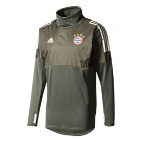 Bayern Munich UCL Training Hybrid Top - Dark Green