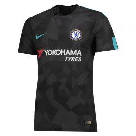 Chelsea Third Vapor Match Shirt 2017-18 with David Luiz 30 printing
