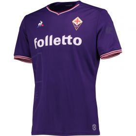 Fiorentina Home Match Shirt 2017-18