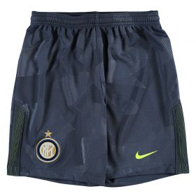 Inter Milan Third Stadium Shorts 2017-18 - Kids